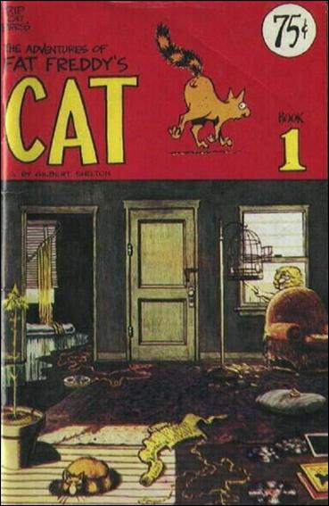 Adventures of Fat Freddy's Cat 1-A by Rip Off Press