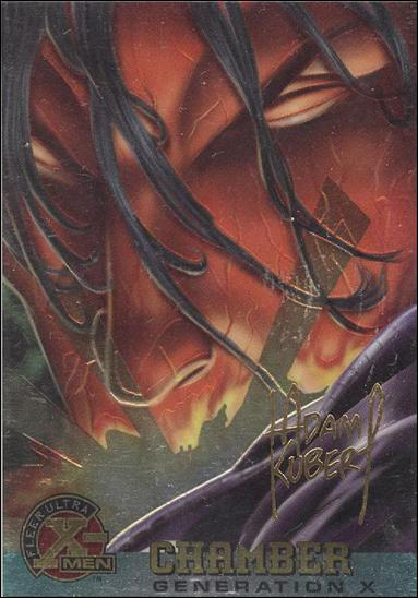1995 Fleer Ultra X-Men All Chromium (Gold Signature Parallel Base Set) 30-A by Fleer