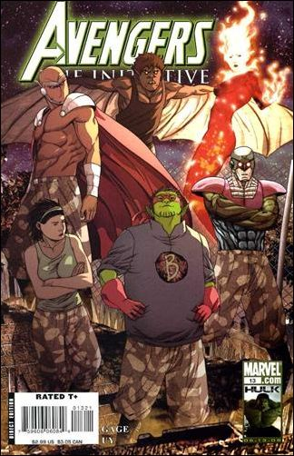 Avengers: The Initiative 13-B by Marvel