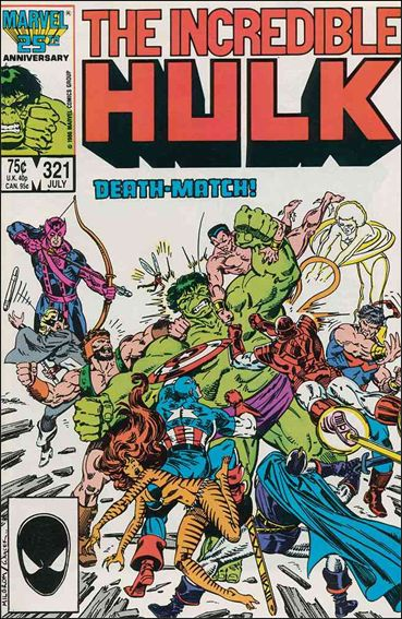 Incredible Hulk (1968) 321-A by Marvel
