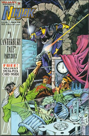 Ninjak (1994) 12-A by Valiant