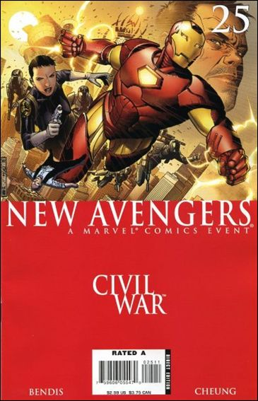 New Avengers (2005) 25-A by Marvel