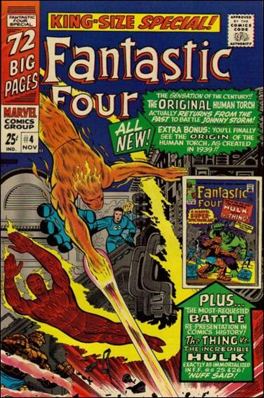 Fantastic Four Annual (1963) 4-A by Marvel