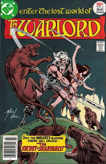 Warlord (1976) 5-A by DC