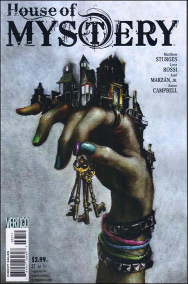 House of Mystery (2008) 37-A by Vertigo