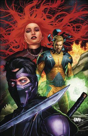 Ninjak vs the Valiant Universe 4-B