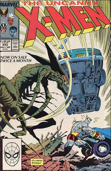 Uncanny X-Men (1981) 233-A by Marvel