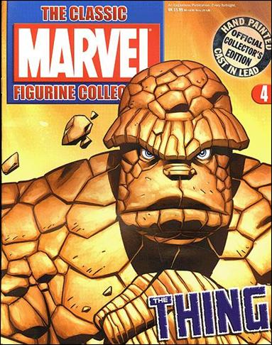 Classic Marvel Figurine Collection (UK) 4-A by Eaglemoss Publications