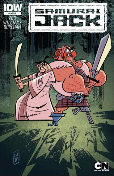 Samurai Jack 6-A by IDW