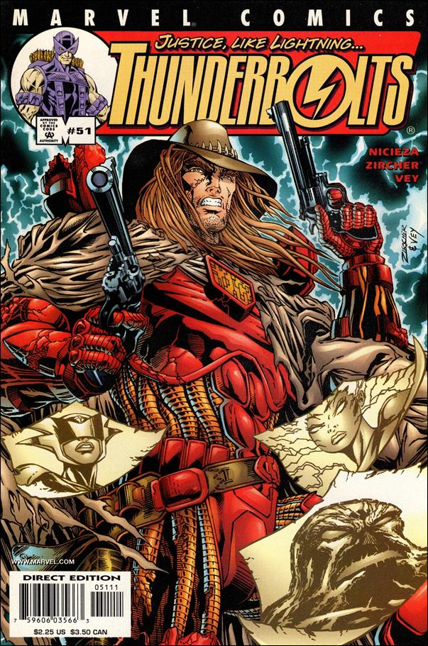Thunderbolts (1997) 51-A by Marvel