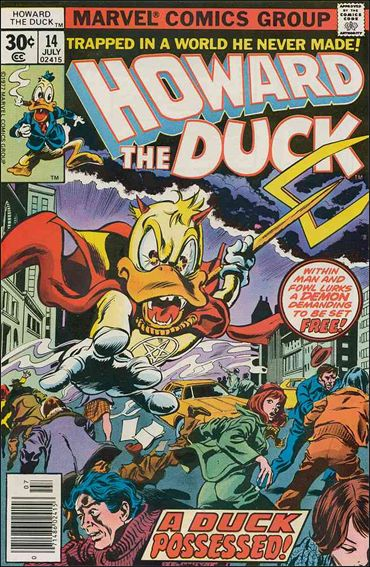Howard the Duck (1976) 14-A by Marvel