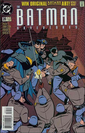 Batman Adventures (1992) 35-A by DC