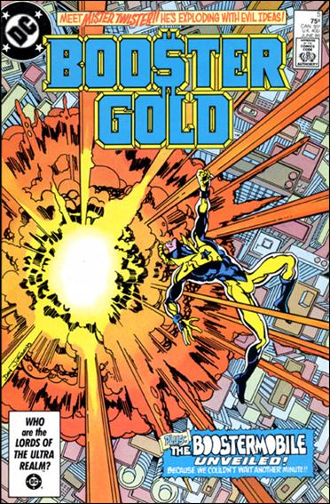Booster Gold (1986) 5-A by DC