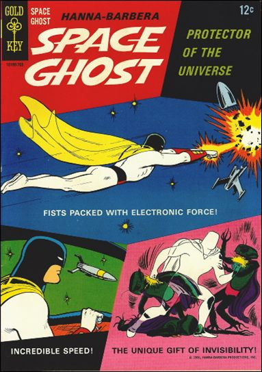 Space Ghost (1967) 1-A by Gold Key
