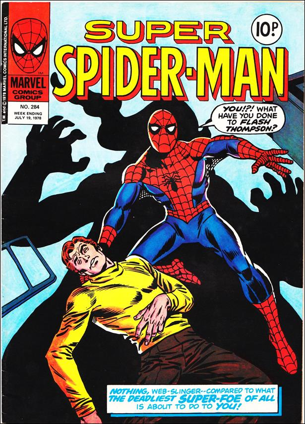 Spider-Man: Comics Weekly (UK) 284-A by Marvel UK