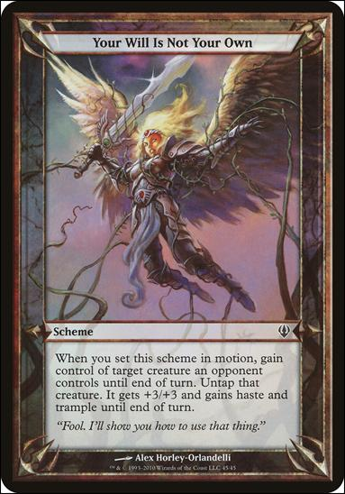 Magic the Gathering: Archenemy (Scheme Subset)45-A by Wizards of the Coast