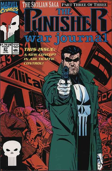 Punisher War Journal (1988) 27-A by Marvel