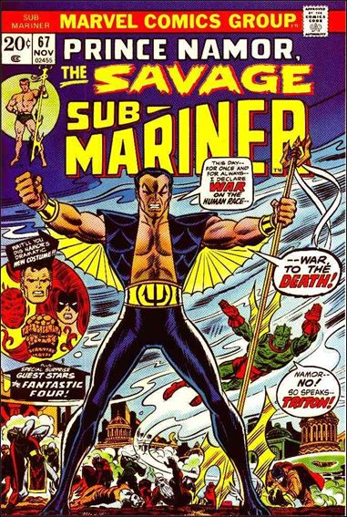 Sub-Mariner (1968) 67-A by Marvel