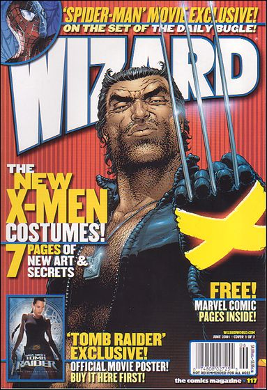Wizard: The Comics Magazine 117-A by Wizard Press