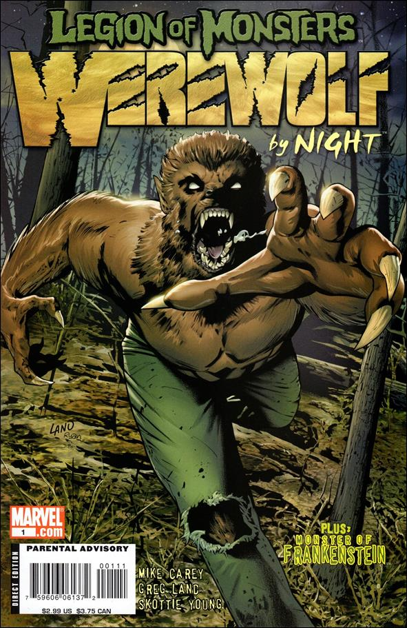 Legion of Monsters: Werewolf by Night 1-A by Marvel