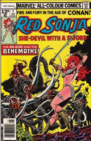 Red Sonja (1977) 7-B