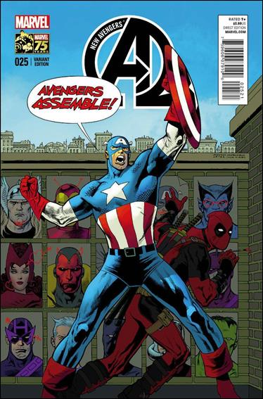New Avengers (2013) 25-B by Marvel