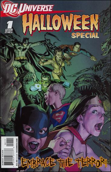DCU Halloween Special 1-A by DC