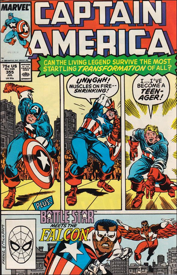 Captain America (1968) 355-A by Marvel