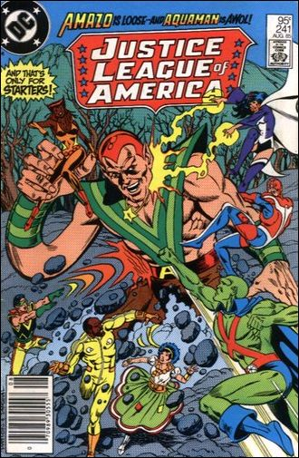 Justice League of America (1960) 241-B by DC