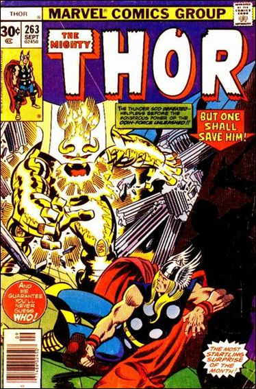 Thor (1966) 263-A by Marvel