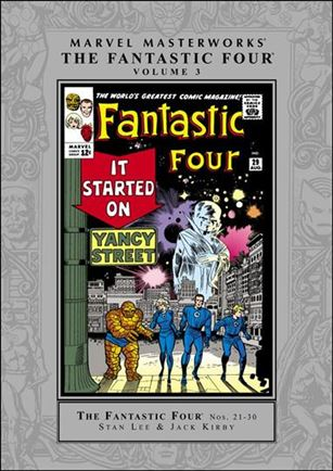 Marvel Masterworks: The Fantastic Four 3-A