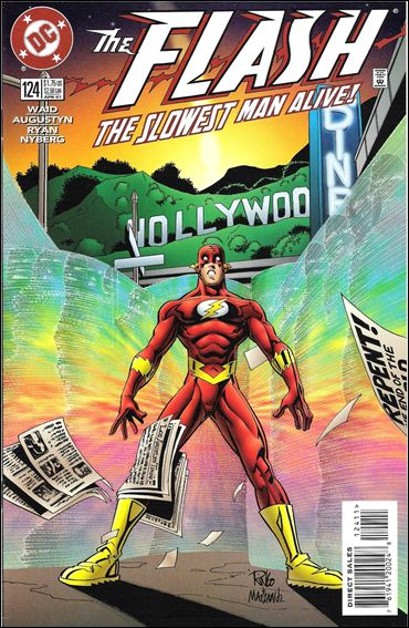 Flash (1987) 124-A by DC
