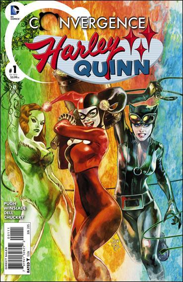 Convergence Harley Quinn 1-A