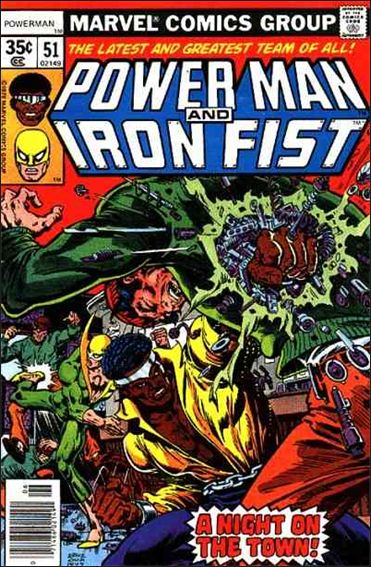 Power Man and Iron Fist (1978) 51-A by Marvel