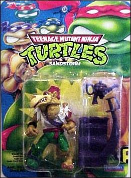 Teenage Mutant Ninja Turtles (1988) Sandstorm by Playmates