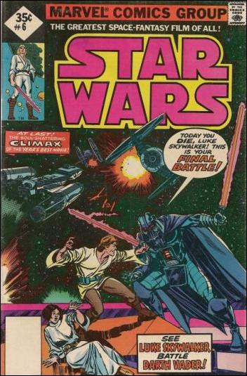 Star Wars (1977) 6-B by Marvel