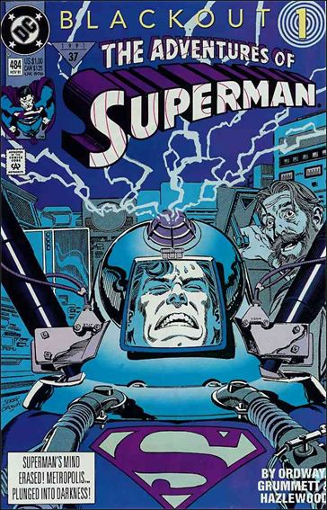 Adventures of Superman (1987) 484-A by DC