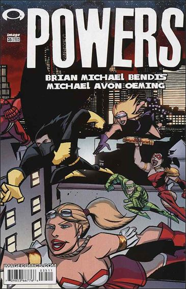 Powers (2000) 35-A by Image