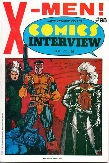 David Anthony Kraft's Comics Interview 98-A by Fictioneer