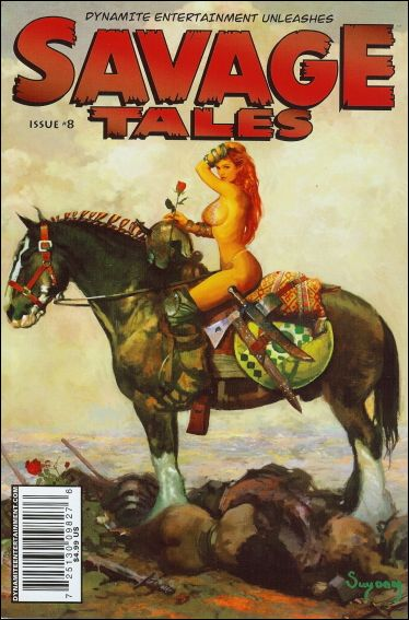 Savage Tales (2007) 8-A by Dynamite Entertainment