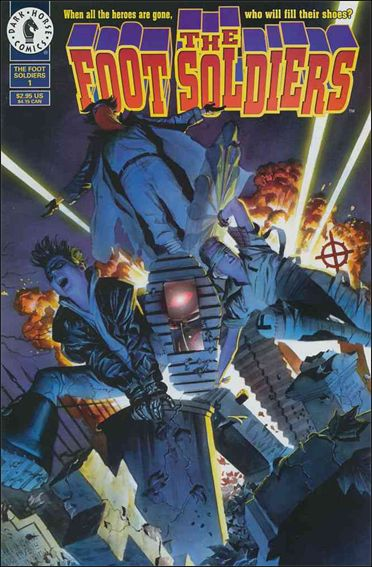 Foot Soldiers (1996) 1-A by Dark Horse