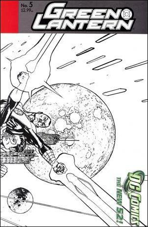 Green Lantern (2011) 5-C by DC