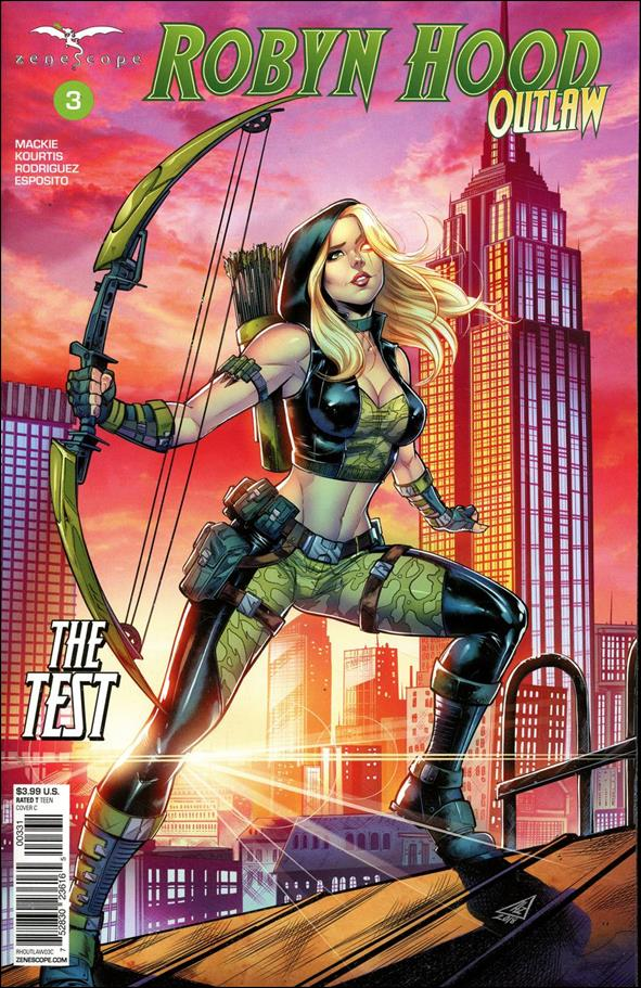 Robyn Hood: Outlaw 3-C by Zenescope Entertainment
