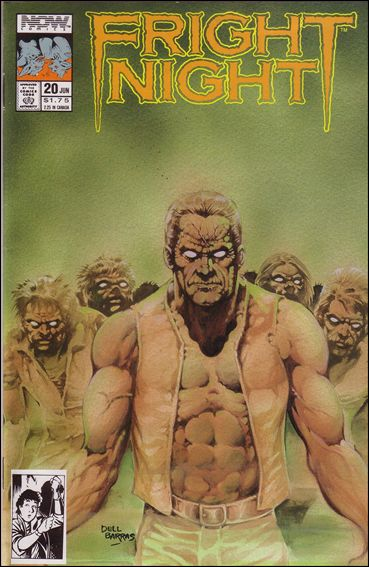 Fright Night 20-A by Now Comics