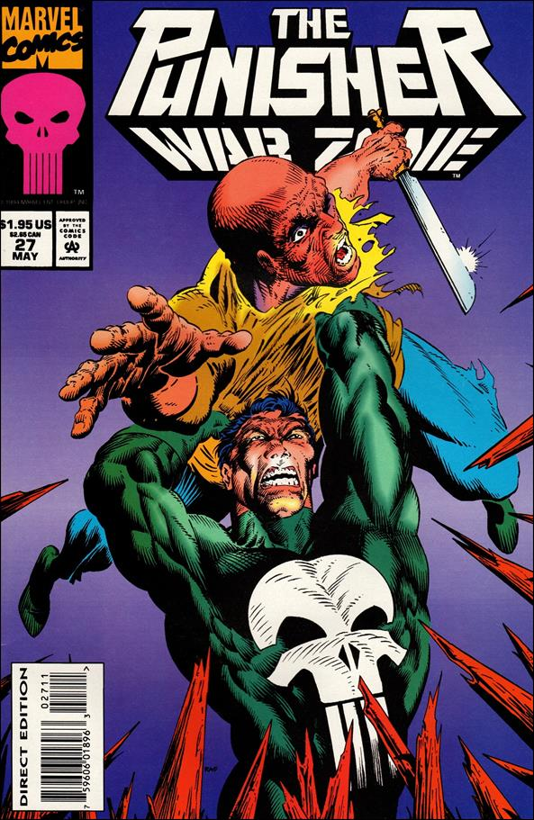 Punisher: War Zone (1992) 27-A by Marvel