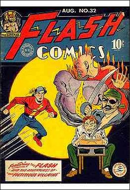 Flash Comics (1939) 32-A by DC