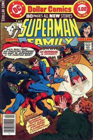 Superman Family 188-A by DC