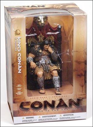 Conan King Conan Of Aquilonia Apr 2005 Action Figure By