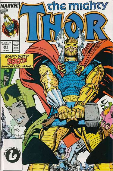 Thor (1966) 382-A by Marvel