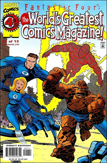 Fantastic Four: The World's Greatest Comics Magazine 1-A by Marvel